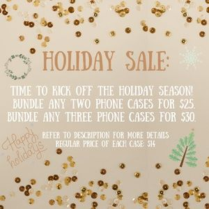 Accessories - NEW iPhone X/XS/6/6S/7/8/6+7+/8+ Holiday Case